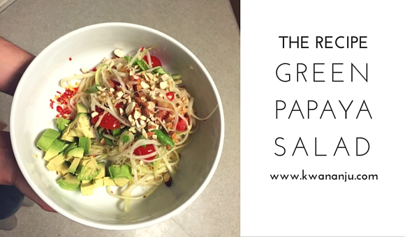 Recipe Green Papaya Salad