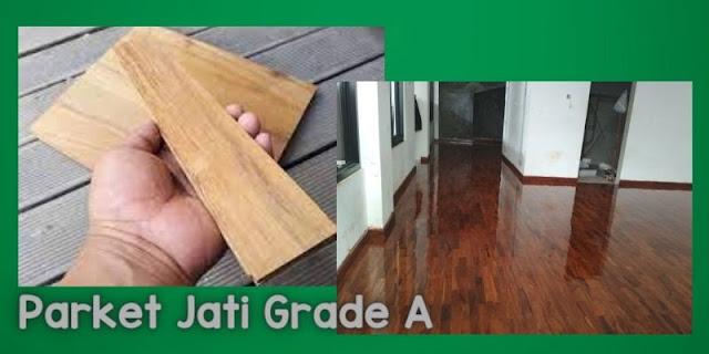 Parket Jati Grade A