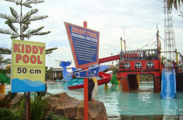 Kiddy Pool di Gerbang Mas Bahari Waterpark