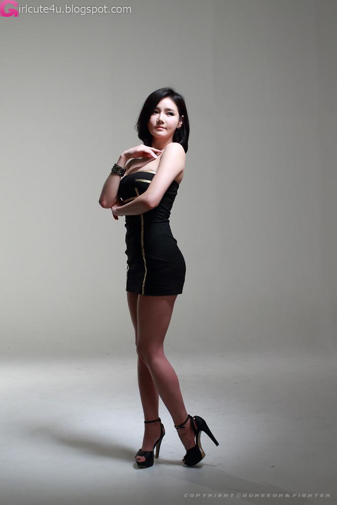Xxx Nude Girls Han Ga Eun In Black Mini Dress