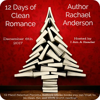 Day 3 of 12 Days of Clean Romance / Giveaway