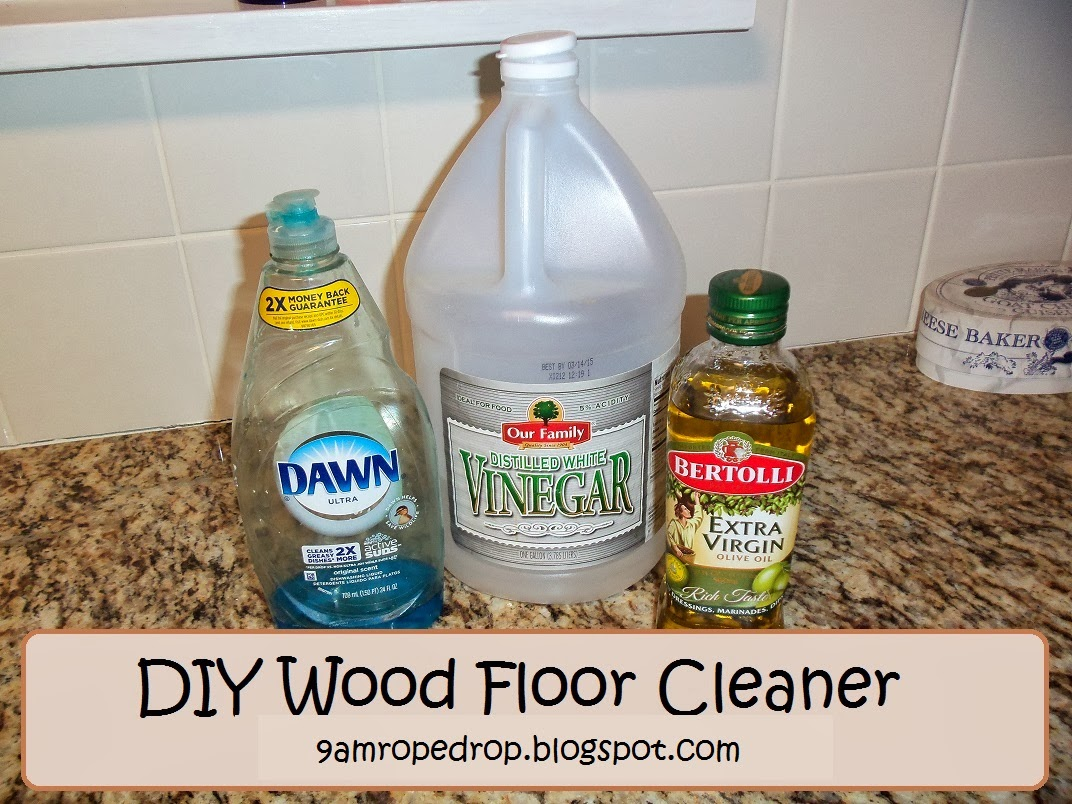 9am Rope Drop Diy Natural Floor Cleaner