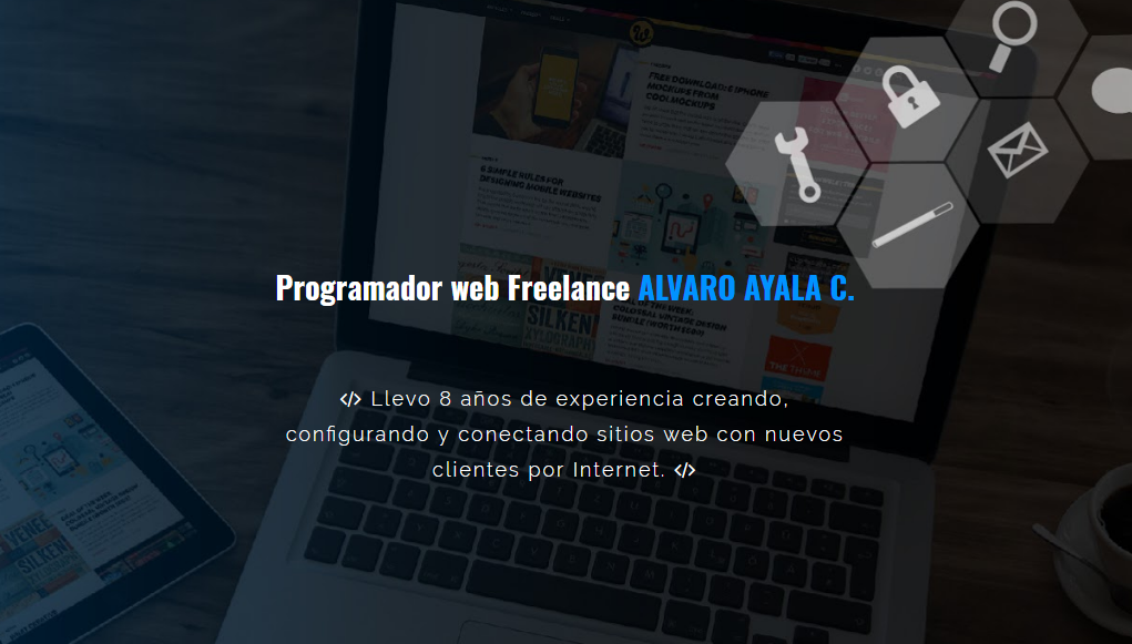 Diseñador web freelance en Bogota