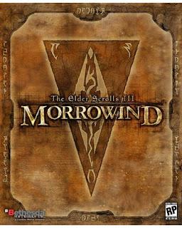 Elder Scrolls Morrowind box art