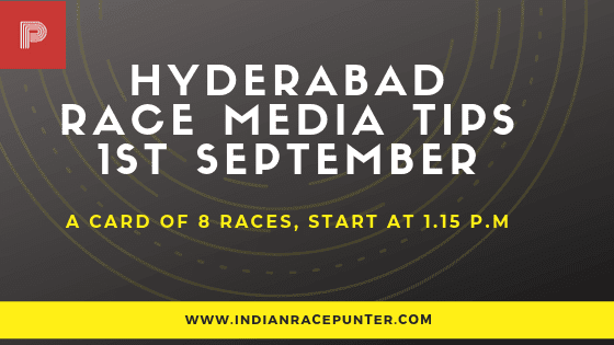 Hyderabad Race Media Tips, free indian horse racing tips, trackeagle, racingpulse