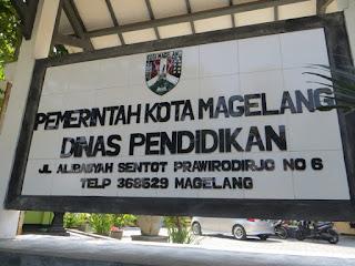 Alamat Sekolah di Kota Magelang