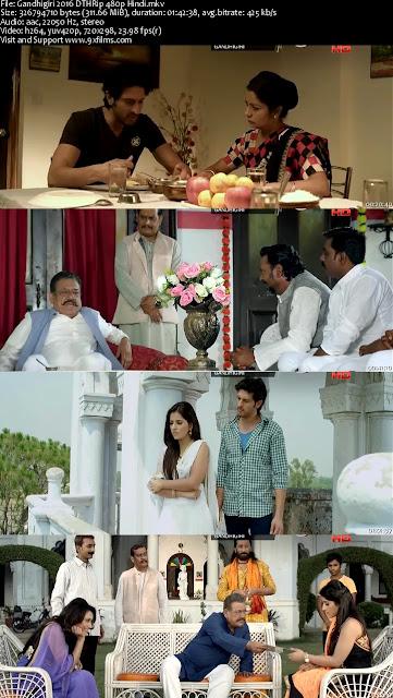 Gandhigiri 2016 DTHRip 480p Hindi