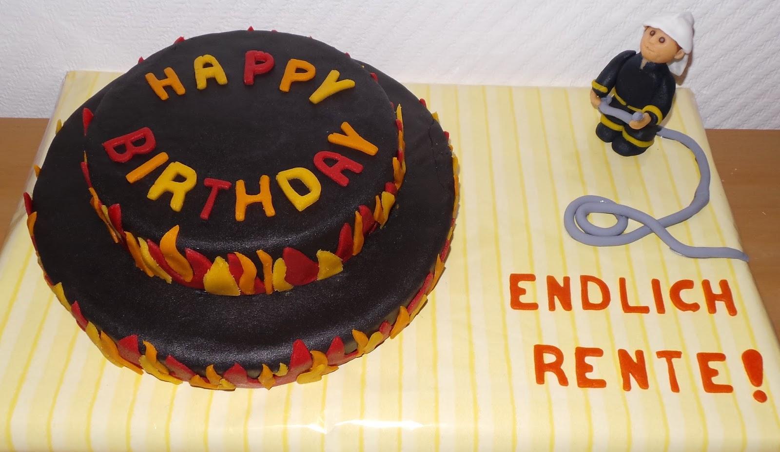 Sandy S Kitchendreams Feuerwehr Geburtstagskuchen