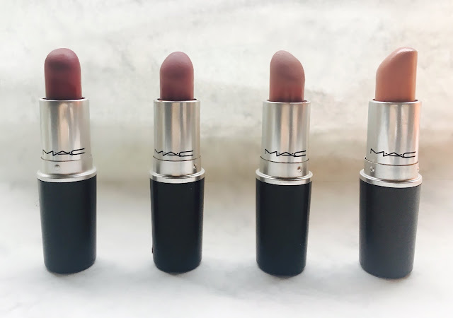 MY TOP 4 MAC LIPSTICKS