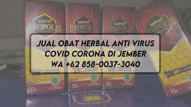 Jual Obat Herbal Anti Virus Covid Corona di Jember