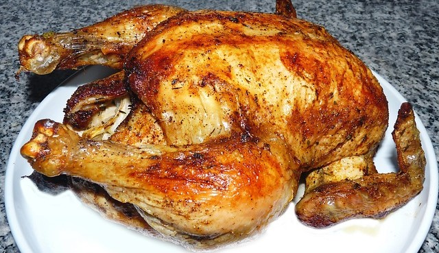 Fully Roasted Chicken