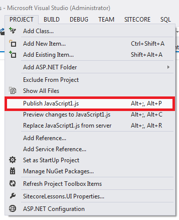 Learning lessons for Sitecore, C#,  NET, SQL Server: How to