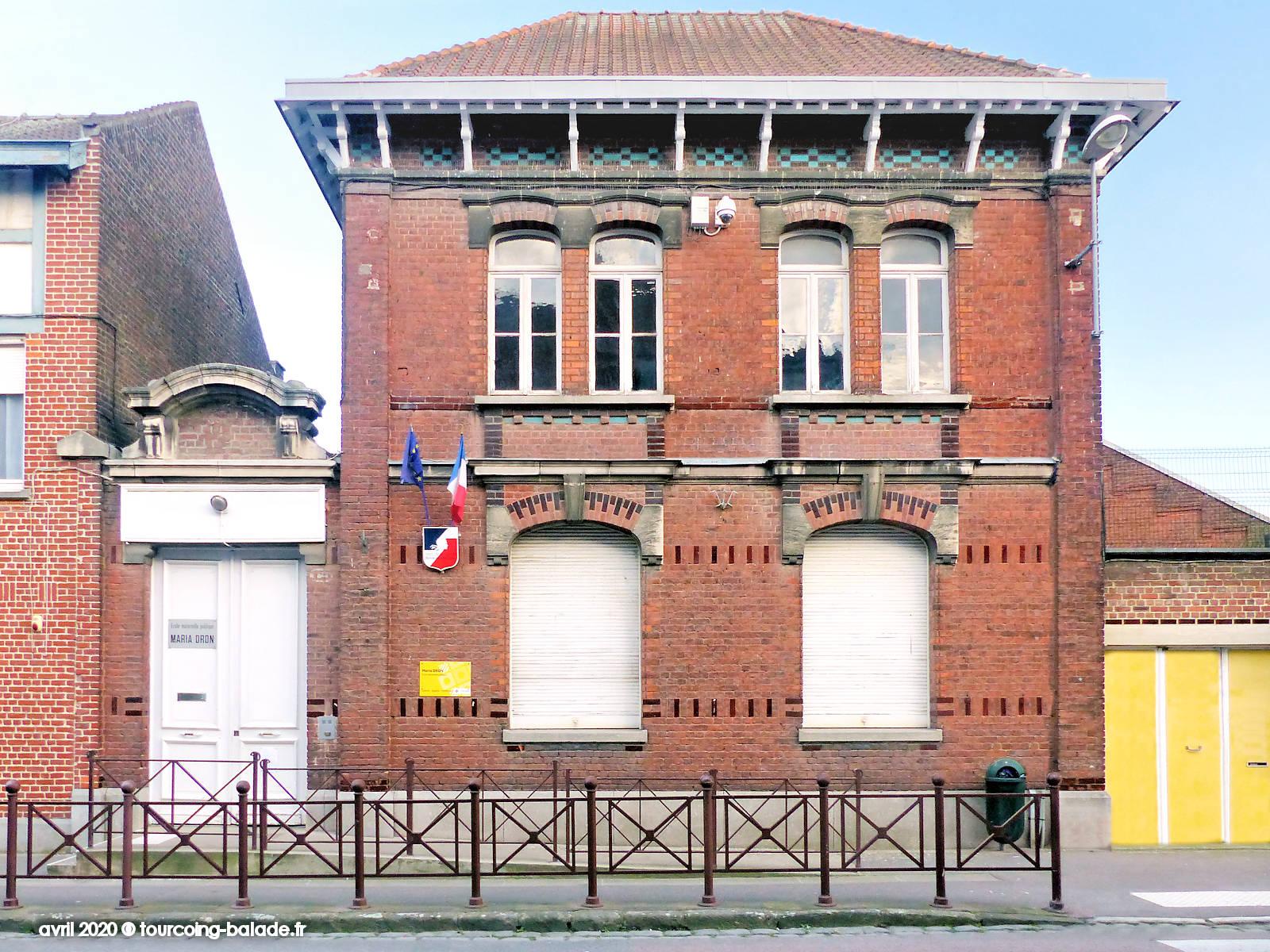 École Maternelle Maria Dron, Tourcoing, 2020