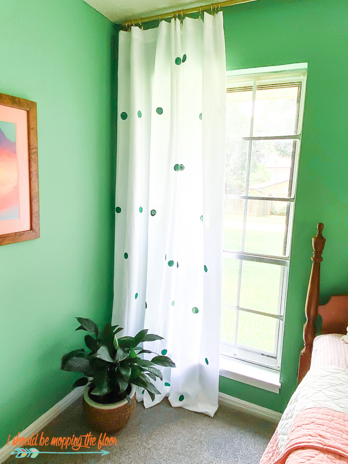 Easy No-Sew Curtains