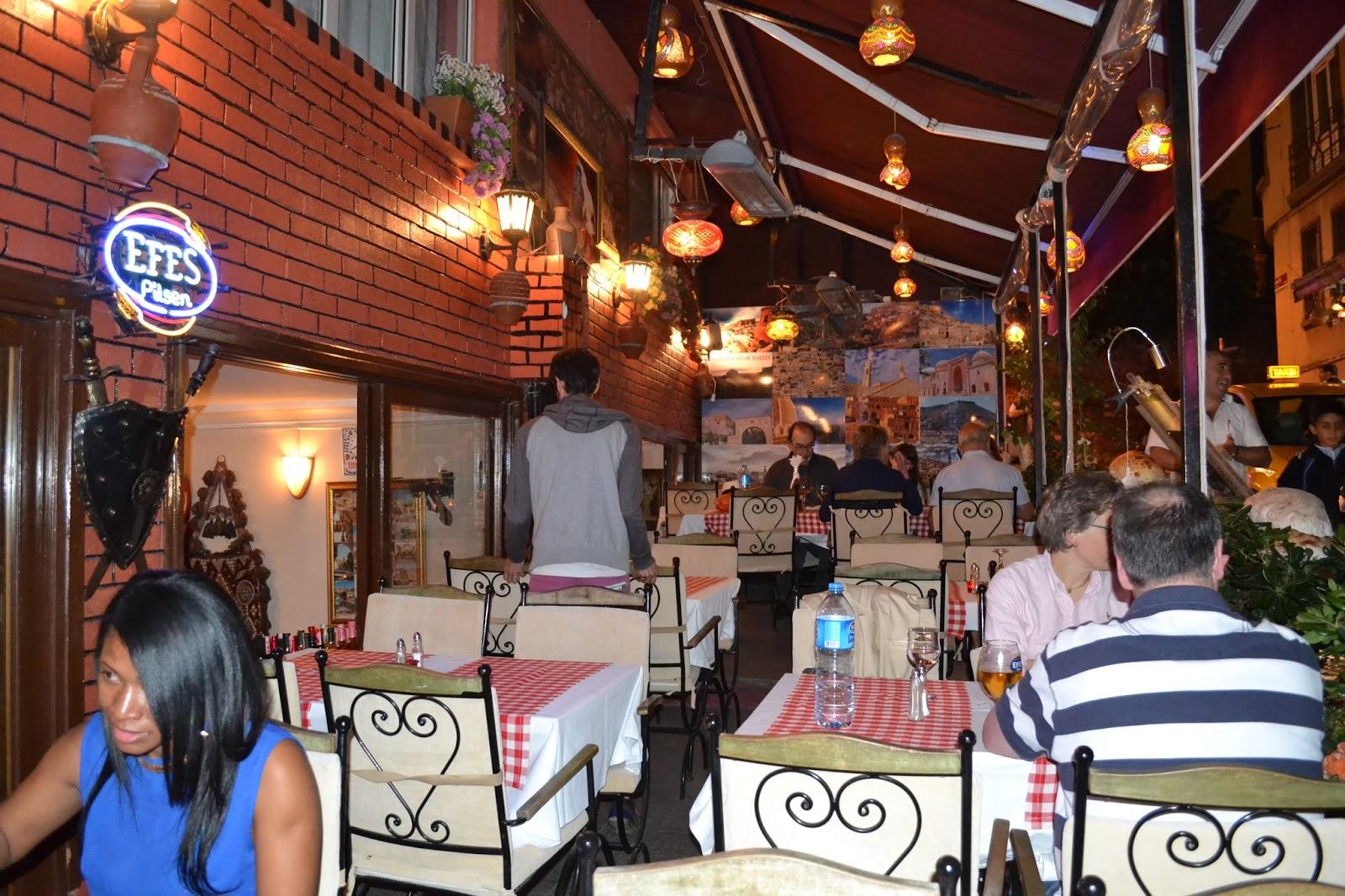 kosk restaurant, Istanbul