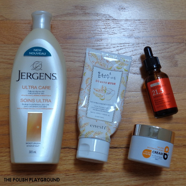 October 2016 Product Empties