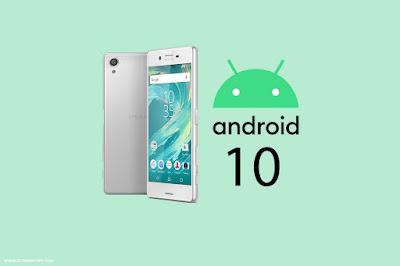 هواتف سوني التي ستحصل على تحديث أندرويد 10 Android