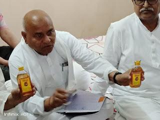 पुलिस प्रशासन के संरक्षण में बिक रही है अवैध जहरीली शराब - डॉ गोविंद सिंह