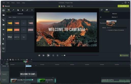 Camtasia adalah salah satu software edit video terbaik untuk pc dan laptop