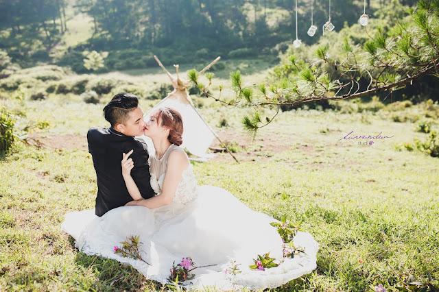 các địa điểm chụp hình cưới đẹp ở đà lạt