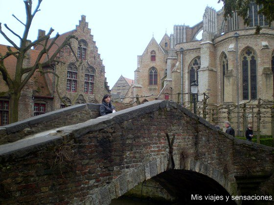 Puente de San Bonifacio, Brujas, Bélgica