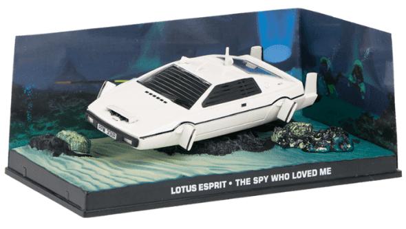 Lotus Esprit - The spy who loved me 1:43 colección james bond