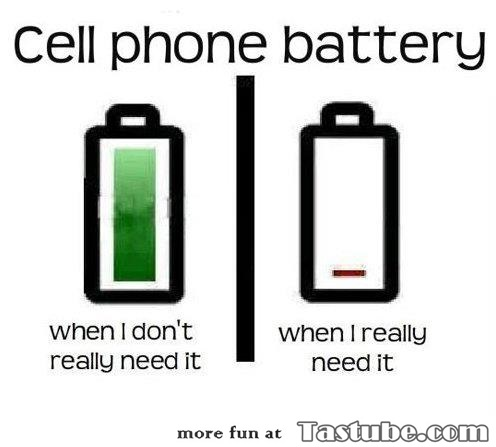 Truth about cell phone battery