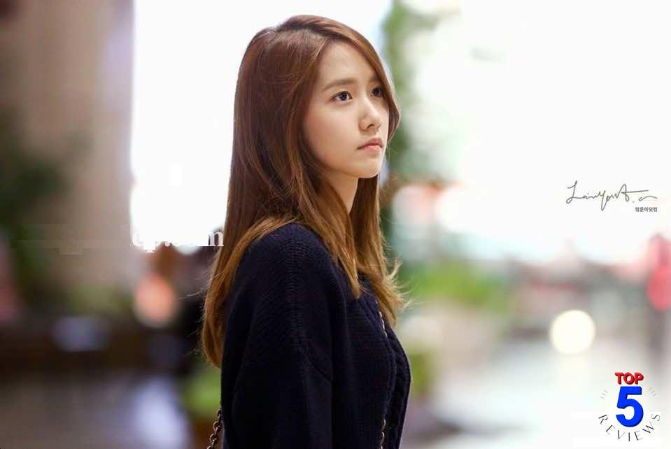 Kiểu Tóc nữ mái xéo dài suôn thẳng