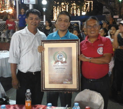 Sir Ronaldo Valdevieso, Sir Mike Pabalate and the author