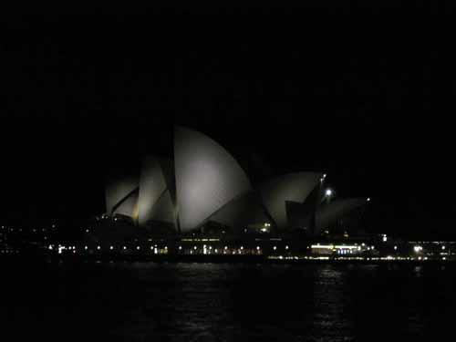 Sydney Opera House Australia At Night