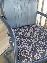 Making Home Vintage Metal Chairs Redo