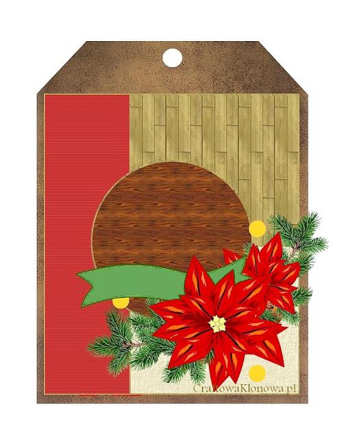 kartka świąteczna mapka