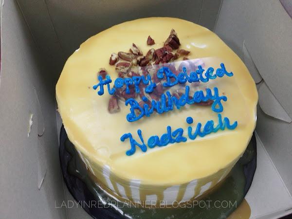 BELATED BIRTHDAY CELEBRATION FOR NADDY