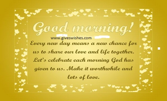 Unique 35 Good Morning Message For Him