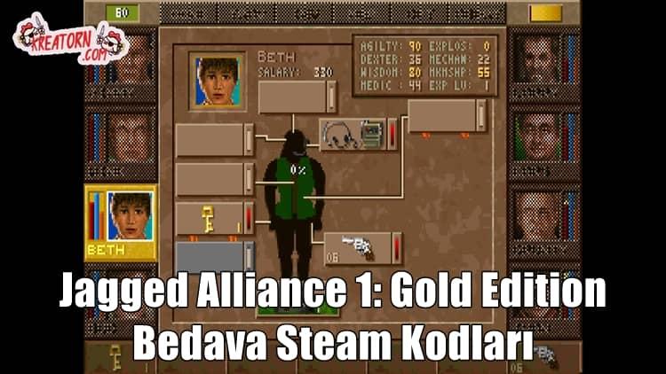 Jagged-Alliance-1-Gold-Edition-Bedava-Steam-Kodlari