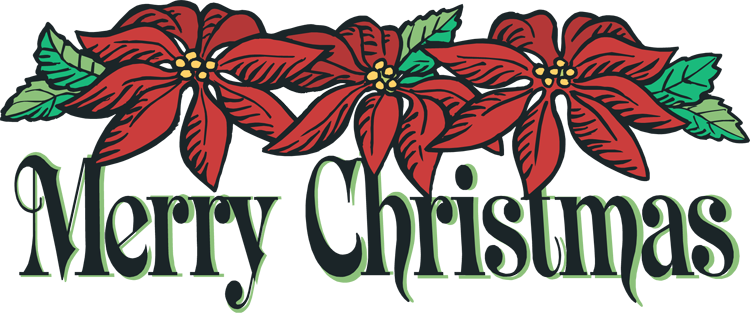 Merry Christmas 2015 Clip Art 3D