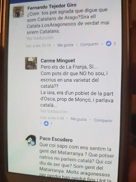 Francisco Escudero, catalaniste, català, textos, facebook