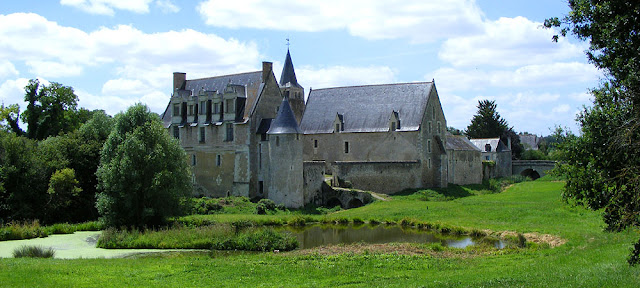 Priory of Le Louroux. Touraine Loire Valley. France. Photo by Susan Walter.