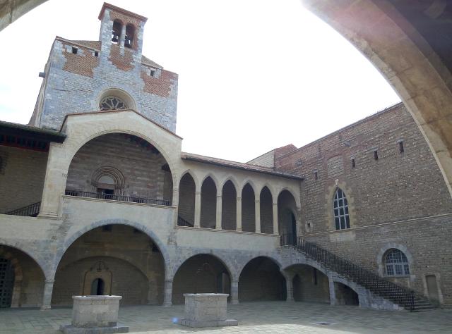 Pati interior del palau