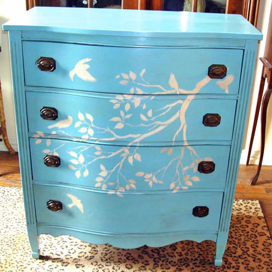 Do It Yourself Furniture Ideas: 15 DIY Furniture Paint Decorations Ideas
