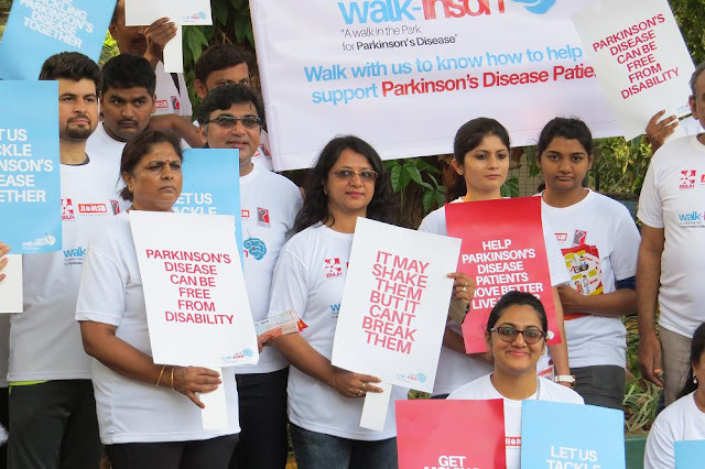 """WALK-INSON 2017"" A Walkathon to create awareness on Parkinson Disease (PD) and how to help support a PD Patient."