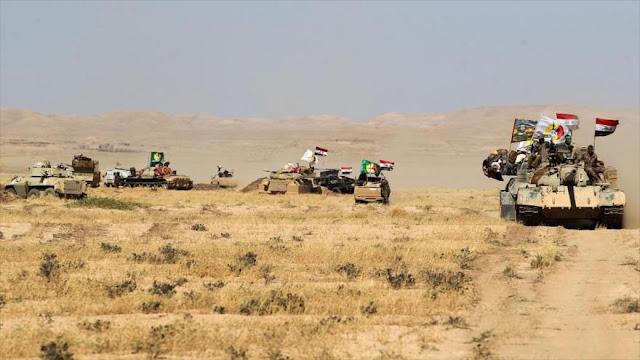 Irak lanza operación a gran escala para total eliminación de Daesh