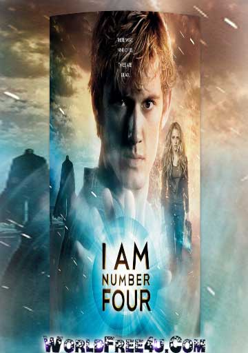 Poster Of I Am Number Four (2011) Full Movie Hindi Dubbed Free Download Watch Online At worldfree4u.com