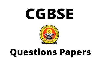 cgbse question paper