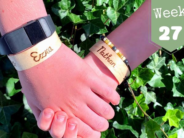 Week 27; Houten Armbandjes, Happertje, Juffendag, Veel Verdriet en Plastic Walvis!