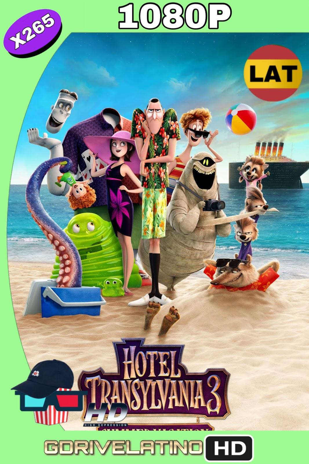 Hotel Transylvania 3: Monstruos de vacaciones (2018) BDRip FULL 1080p ( HEVC x265) (Latino-Inglés) MKV