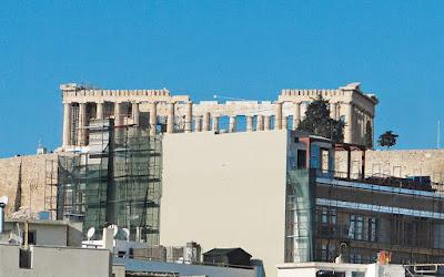 Το τείχος κάτω από την Ακρόπολη