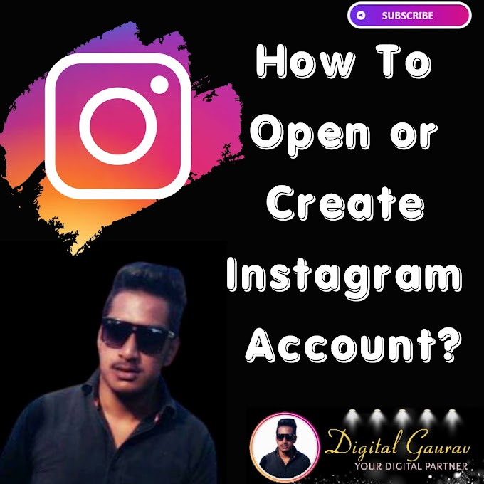 How to Create Instagram Account?