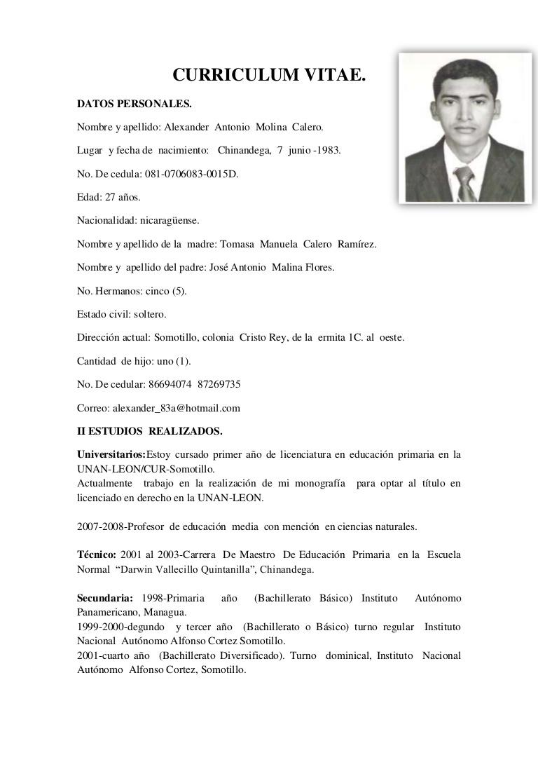 Imagen Ejecutiva Curriculum Vitae