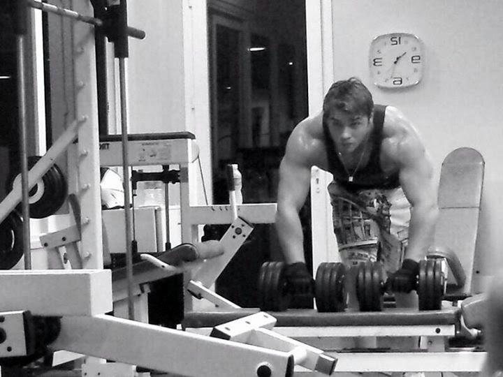 Thor Batista pratica musculação desde os 17 anos Foto: Instagram/Reprodução